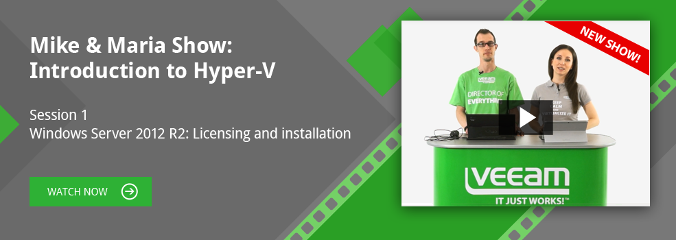 Protected: Introduction to Hyper-V. Windows Server 2012 R2: Licensing and Installation